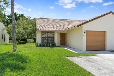 416 Cottonwood Place Boca Raton FL 33431